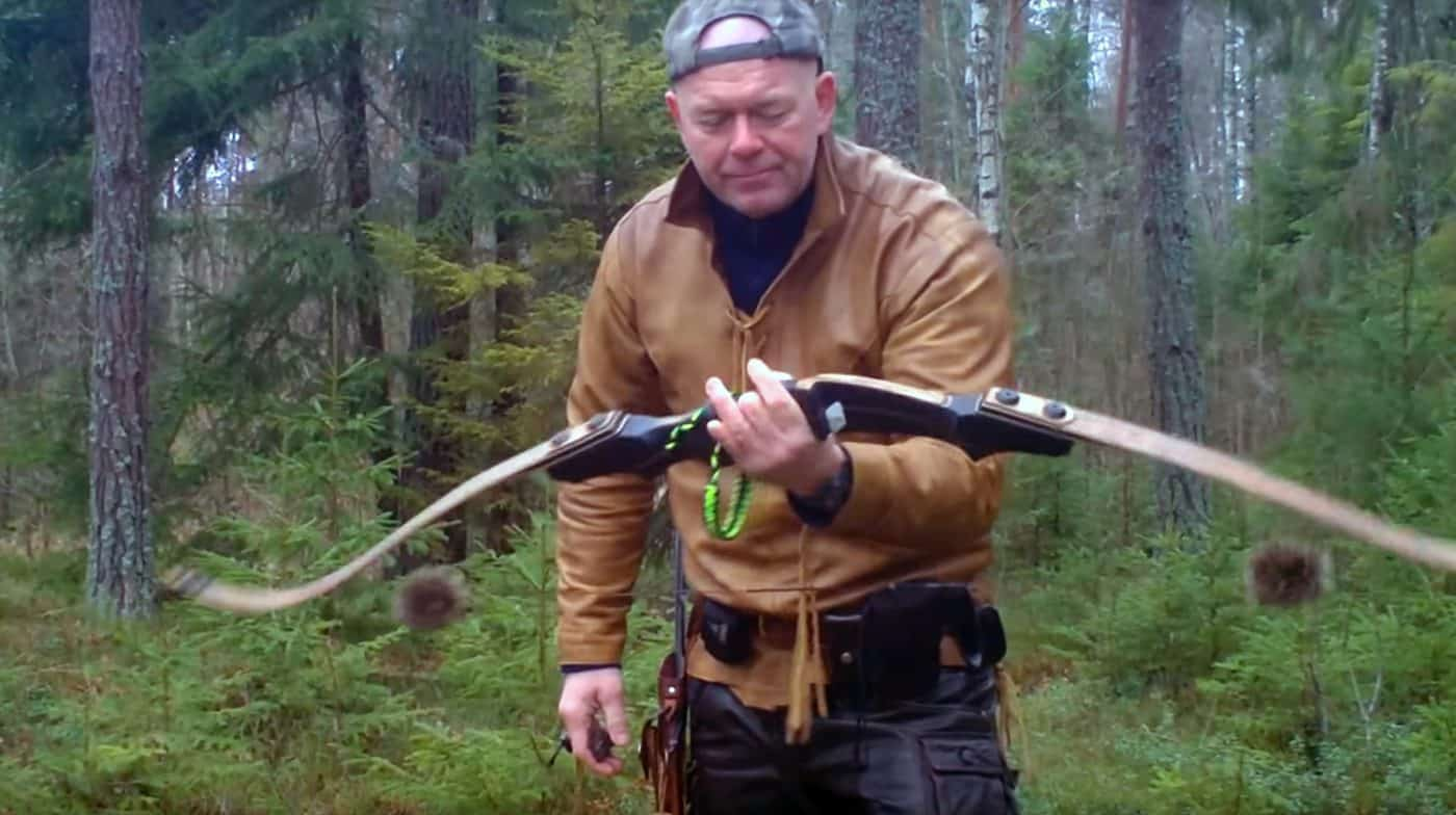 Photo of Christer Andersson, Swedish Champion Archer