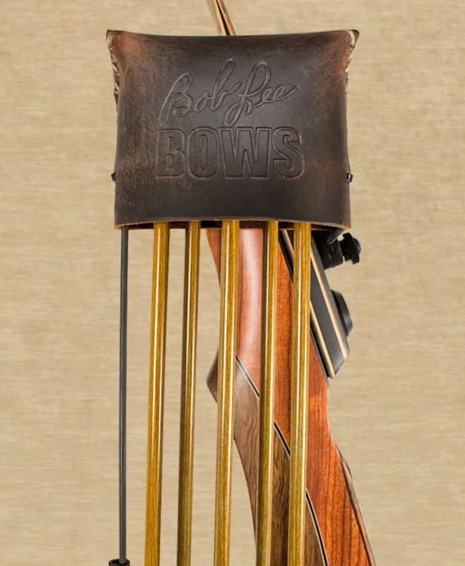 Brown Great Northern Quick Mount Quiver for Takedown Bows