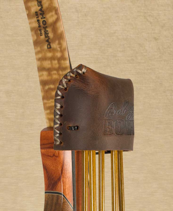 Brown Great Northern Bow Quiver for Recurves and Long Bows